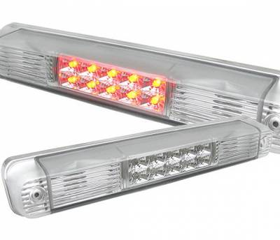 Headlights & Tail Lights - Third Brake Lights - 4 Car Option - Chevrolet C10 4 Car Option Third Brake Light - Clear - LB-GC88LEDC