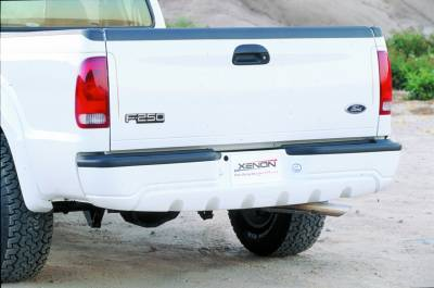 Excursion - Rear Bumper - Xenon - Ford Excursion Xenon Rear Bumper Cover - 8444