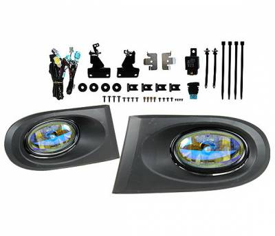 Headlights & Tail Lights - Fog Lights - 4 Car Option - Acura RSX 4 Car Option Fog Light Kit - Ion - LHF-ARX-ION