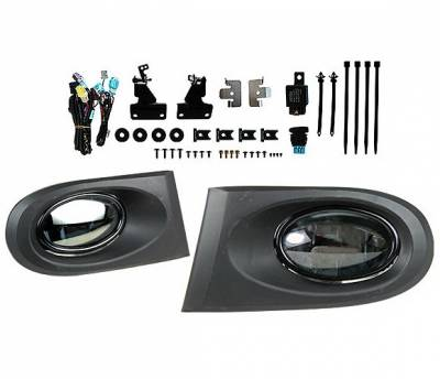 Headlights & Tail Lights - Fog Lights - 4 Car Option - Acura RSX 4 Car Option Fog Light Kit - Smoke - LHF-ARX-SM