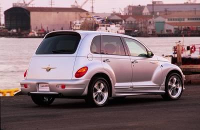 PT Cruiser - Rear Bumper - Xenon - Chrysler PT Cruiser Xenon Rear Bumper Cover - 10024