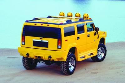 H2 - Rear Bumper - Xenon - Hummer H2 Xenon Rear Bumper Cover - 11704
