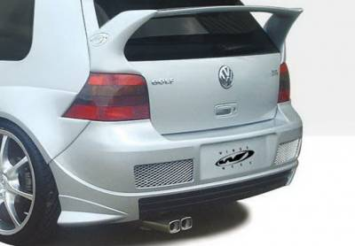 Golf GTi - Rear Bumper - Wings West - Volkswagen Golf GTI Wings West G-Spec Rear Bumper Cover - 890712