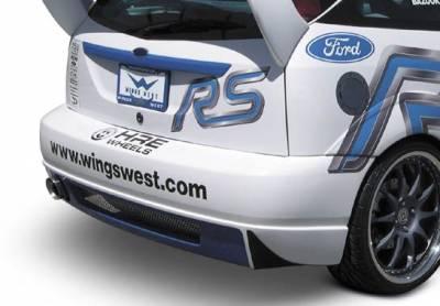 Focus 4Dr - Rear Bumper - VIS Racing - Ford Focus VIS Racing WRC Rear Bumper - 890841