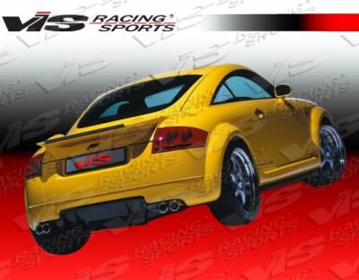 TT - Rear Bumper - VIS Racing - Audi TT VIS Racing A Tech Rear Lip - 00AUTT2DATH-012