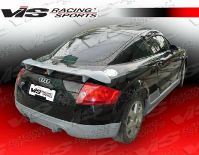 TT - Rear Bumper - VIS Racing - Audi TT VIS Racing Euro Tech Rear Lip - 00AUTT2DET-012
