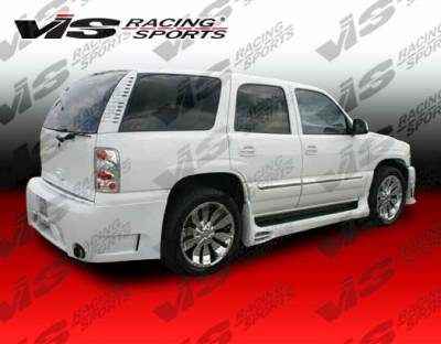 Tahoe - Rear Bumper - VIS Racing - Chevrolet Tahoe VIS Racing Outcast Rear Bumper - 00CHTAH4DOC-002