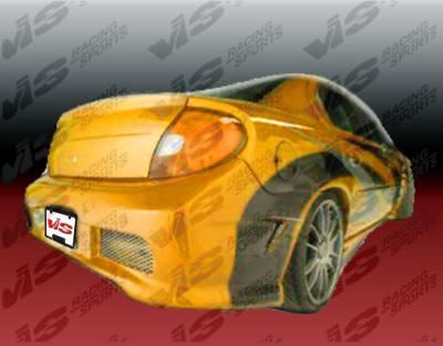Neon 4Dr - Rear Bumper - VIS Racing - Dodge Neon 4DR VIS Racing Kombat Rear Bumper - 00DGNEO4DKOM-002