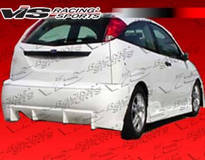 Focus 4Dr - Rear Bumper - VIS Racing - Ford Focus VIS Racing TSC Rear Bumper - 00FDFOC2DTSC-002
