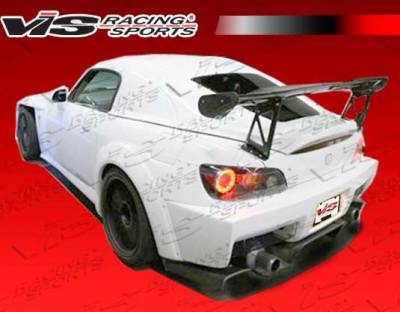 S2000 - Rear Bumper - VIS Racing - Honda S2000 VIS Racing SP Rear Bumper - 00HDS2K2DSP-002