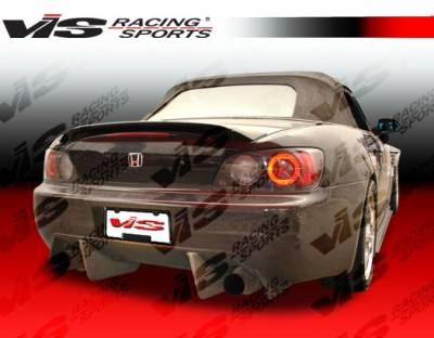 S2000 - Rear Bumper - VIS Racing - Honda S2000 VIS Racing Techno R Rear Bumper - 00HDS2K2DTNR-002