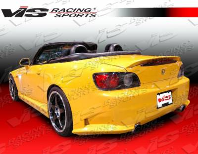 S2000 - Rear Bumper - VIS Racing - Honda S2000 VIS Racing Viper Rear Bumper - 00HDS2K2DVR-002