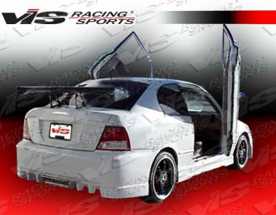 Accent 2Dr - Rear Bumper - VIS Racing - Hyundai Accent 2DR VIS Racing Evo 5 Rear Bumper - 00HYACC2DEVO5-002