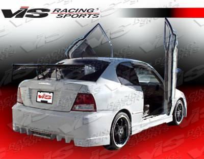 Accent 4Dr - Rear Bumper - VIS Racing. - Hyundai Accent 4DR VIS Racing EVO-5 Rear Bumper - 00HYACC4DEVO5-002