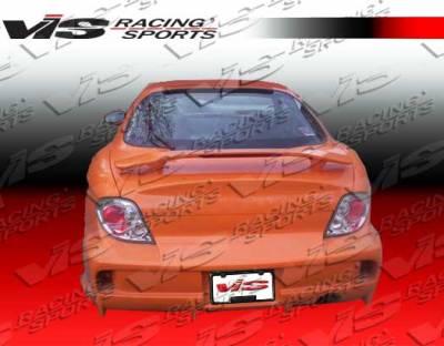 Tiburon - Rear Bumper - VIS Racing - Hyundai Tiburon VIS Racing Invader-2 Rear Bumper - 00HYTIB2DINV2-002