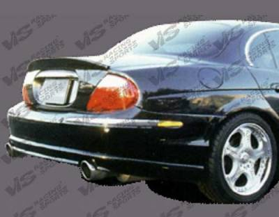 S Type - Rear Bumper - VIS Racing - Jaguar S Type VIS Racing Invader-2 Rear Lip - 00JAST4DINV2-012