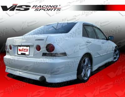 IS - Rear Bumper - VIS Racing - Lexus IS VIS Racing Techno R Rear Lip - 00LXIS34DTNR-012