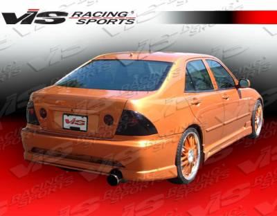 IS - Rear Bumper - VIS Racing - Lexus IS VIS Racing Tracer Rear Bumper - 00LXIS34DTRA-002