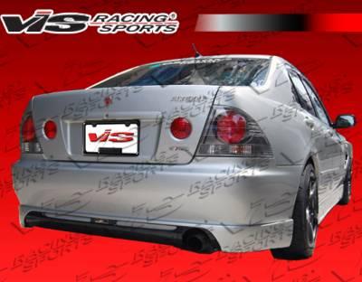 IS - Rear Bumper - VIS Racing - Lexus IS VIS Racing Wize Rear Lip - 00LXIS34DWIZ-012