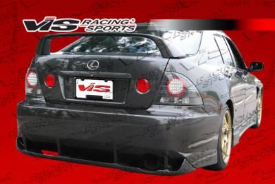 IS - Rear Bumper - VIS Racing - Lexus IS VIS Racing Z Speed Rear Bumper - 00LXIS34DZSP-002