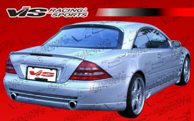 CL Class - Rear Bumper - VIS Racing - Mercedes-Benz CL Class VIS Racing Laser F1 Rear Bumper - 00MEW2152DLF1-002