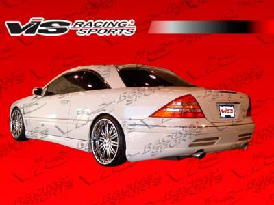 CL Class - Rear Bumper - VIS Racing - Mercedes-Benz CL Class VIS Racing Laser Rear Bumper - 00MEW2152DLS-002