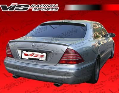 S Class - Rear Bumper - VIS Racing - Mercedes-Benz S Class VIS Racing Euro Tech Rear Bumper - 00MEW2204DET-002