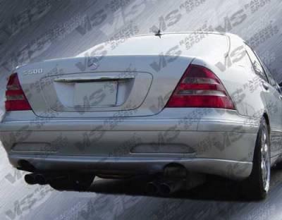 S Class - Rear Bumper - VIS Racing - Mercedes-Benz S Class VIS Racing Laser Rear Bumper - 00MEW2204DLS-002