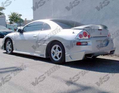 Eclipse - Rear Bumper - VIS Racing - Mitsubishi Eclipse VIS Racing Battle Z Rear Bumper - 00MTECL2DBZ-002