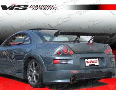 Eclipse - Rear Bumper - VIS Racing - Mitsubishi Eclipse VIS Racing Sniper Rear Lip - 00MTECL2DSNI-012