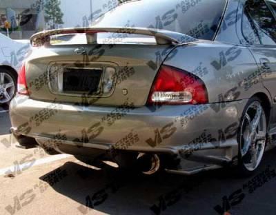 Sentra - Rear Bumper - VIS Racing - Nissan Sentra VIS Racing Ballistix Rear Bumper - 00NSSEN4DBX-002