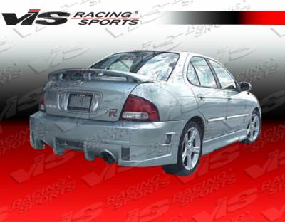 Sentra - Rear Bumper - VIS Racing - Nissan Sentra VIS Racing Evo 4 Rear Bumper - 00NSSEN4DEVO4-002