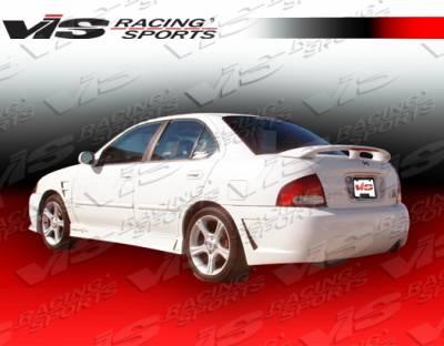 Sentra - Rear Bumper - VIS Racing - Nissan Sentra VIS Racing TSC-3 Rear Bumper - 00NSSEN4DTSC3-002