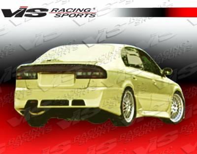 Legacy - Rear Bumper - VIS Racing - Subaru Legacy VIS Racing STI Rear Bumper - 00SBLEG4DSTI-002