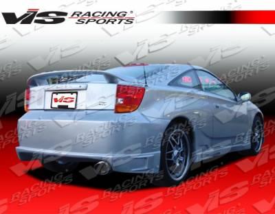 Celica - Rear Bumper - VIS Racing - Toyota Celica VIS Racing Battle Z Rear Bumper - 00TYCEL2DBZ-002