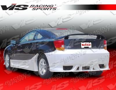 Celica - Rear Bumper - VIS Racing - Toyota Celica VIS Racing Cyber Rear Bumper - 00TYCEL2DCY-002