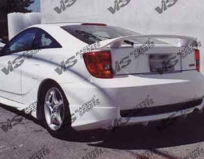 Celica - Rear Bumper - VIS Racing - Toyota Celica VIS Racing Techno R Rear Lip - 00TYCEL2DTNR-012