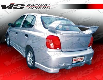 Echo - Rear Bumper - VIS Racing - Toyota Echo VIS Racing Tracer Rear Bumper - 00TYECH4DTRA-002