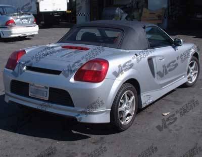 MRS - Rear Bumper - VIS Racing - Toyota MRS VIS Racing GT Sport Rear Lip - 00TYMRS2DGTS-012