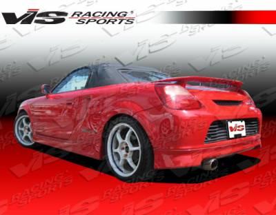 MRS - Rear Bumper - VIS Racing - Toyota MRS VIS Racing Techno R Rear Lip - 00TYMRS2DTNR-012
