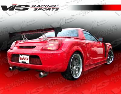 MRS - Rear Bumper - VIS Racing. - Toyota MRS VIS Racing Techno R Widebody Rear Bumper - 00TYMRS2DTNRWB-002