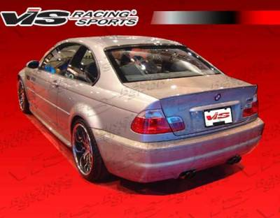 3 Series 2Dr - Rear Bumper - VIS Racing - BMW 3 Series 2DR VIS Racing OEM Rear Bumper - 01BME46M32DOE-002