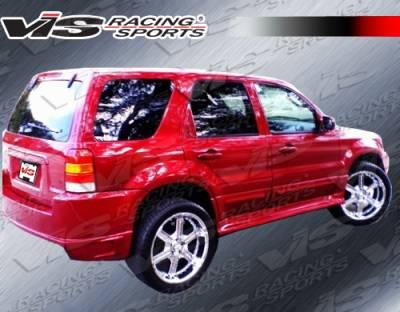 Escape - Rear Bumper - VIS Racing - Ford Escape VIS Racing Outcast Rear Bumper - 01FDECA4DOC-002