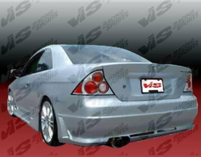 Civic 2Dr - Rear Bumper - VIS Racing - Honda Civic 2DR VIS Racing Octane Rear Bumper - 01HDCVC2DOCT-002