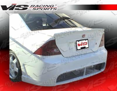 Civic 2Dr - Rear Bumper - VIS Racing - Honda Civic 2DR VIS Racing TSC-2 Rear Bumper - 01HDCVC2DTSC2-002