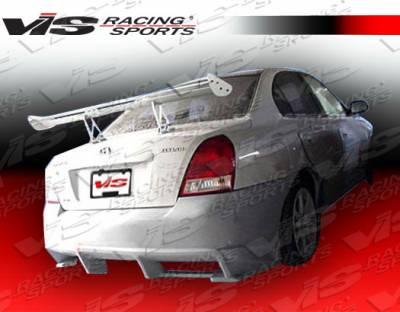 Elantra 4Dr - Rear Bumper - VIS Racing - Hyundai Elantra 4DR VIS Racing Ballistix Rear Bumper - 01HYELA4DBX-002