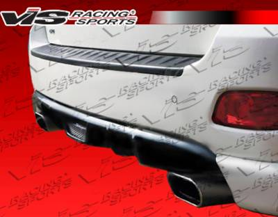 Santa Fe - Rear Bumper - VIS Racing - Hyundai Santa Fe VIS Racing Top Mate Rear Lip - 01HYSAN4DTOP-012