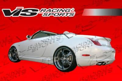SC - Rear Bumper - VIS Racing - Lexus SC VIS Racing VIP Rear Lip - 01LXSC42DVIP-012