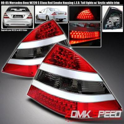 Headlights & Tail Lights - Led Tail Lights - Sonar - G2 LED tail Smoked