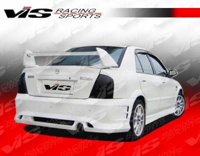 Protege - Rear Bumper - VIS Racing - Mazda Protege VIS Racing Icon Rear Bumper - 01MZ3234DICO-002